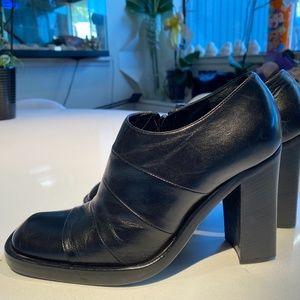 Maria claire booties 37 - NEW black high heel